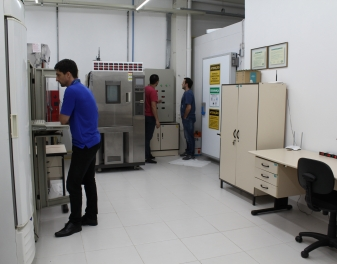 Laboratório de testes